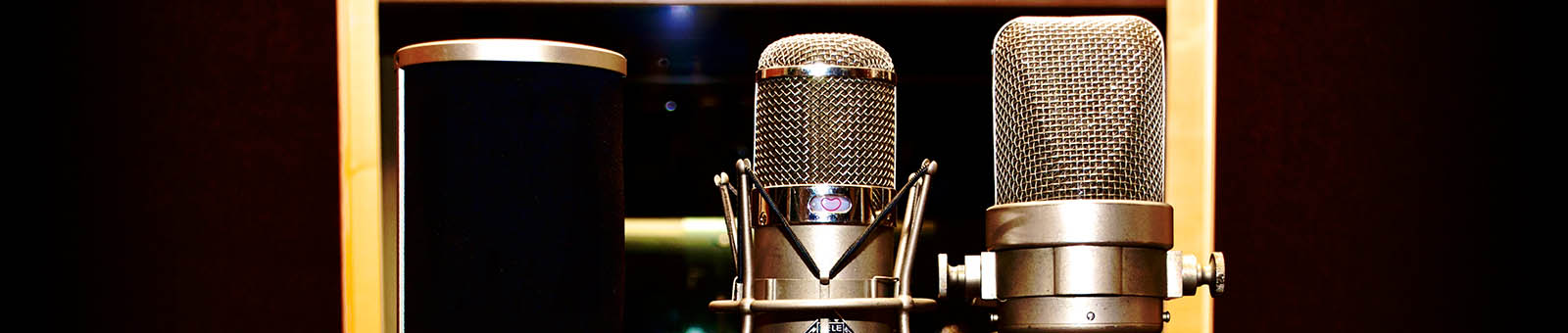 Neumann Mikrofone im Studio