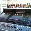 live mixing console